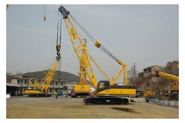 QUY80-80吨中联履带吊起重机钢丝绳规格型号Φ24mm